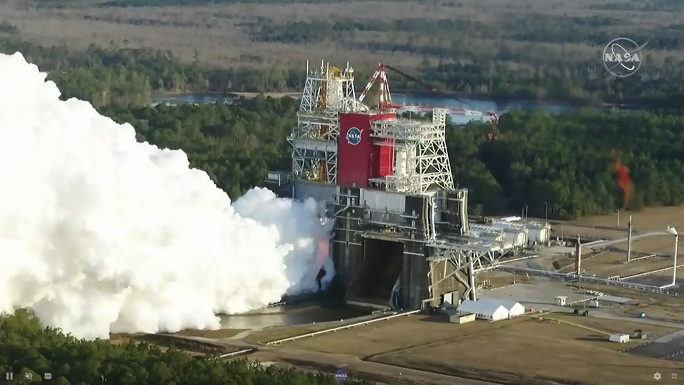 NASA is testing rocket ladders to help put people on the moon
