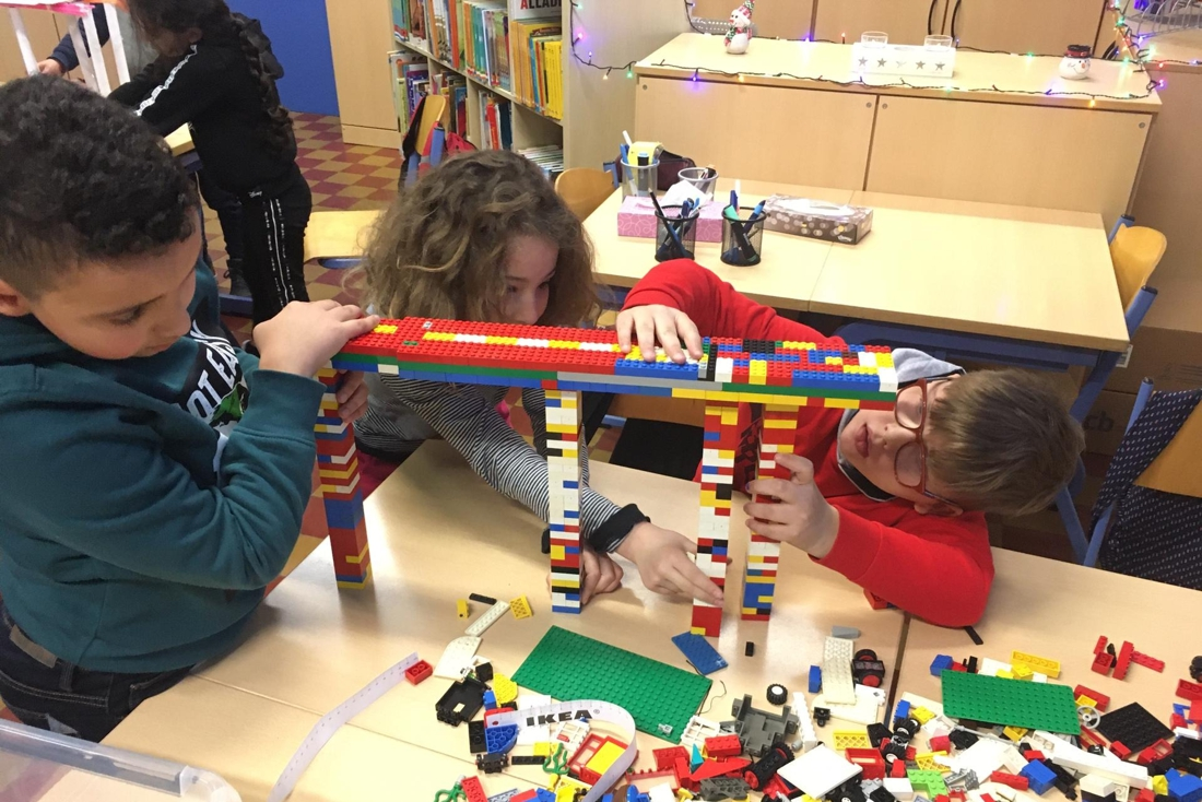 Elementary school children are introduced to science and technology (Mechelen)
