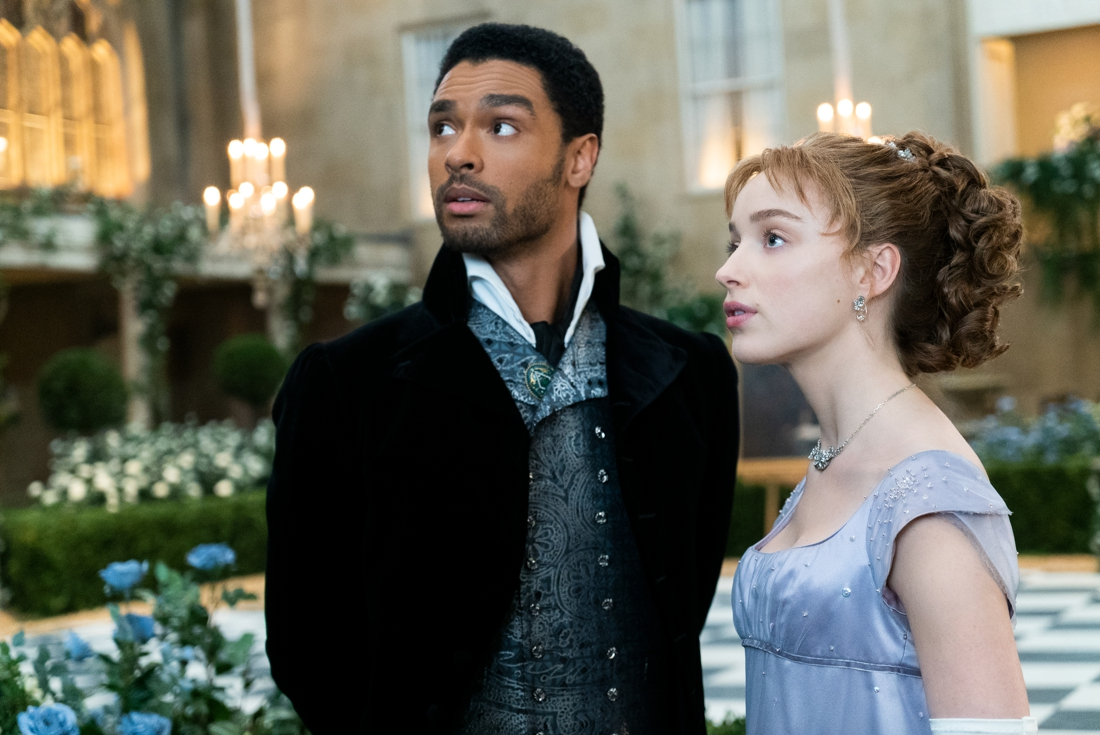 Bridgerton fans see a historical flaw in the opening scene …
