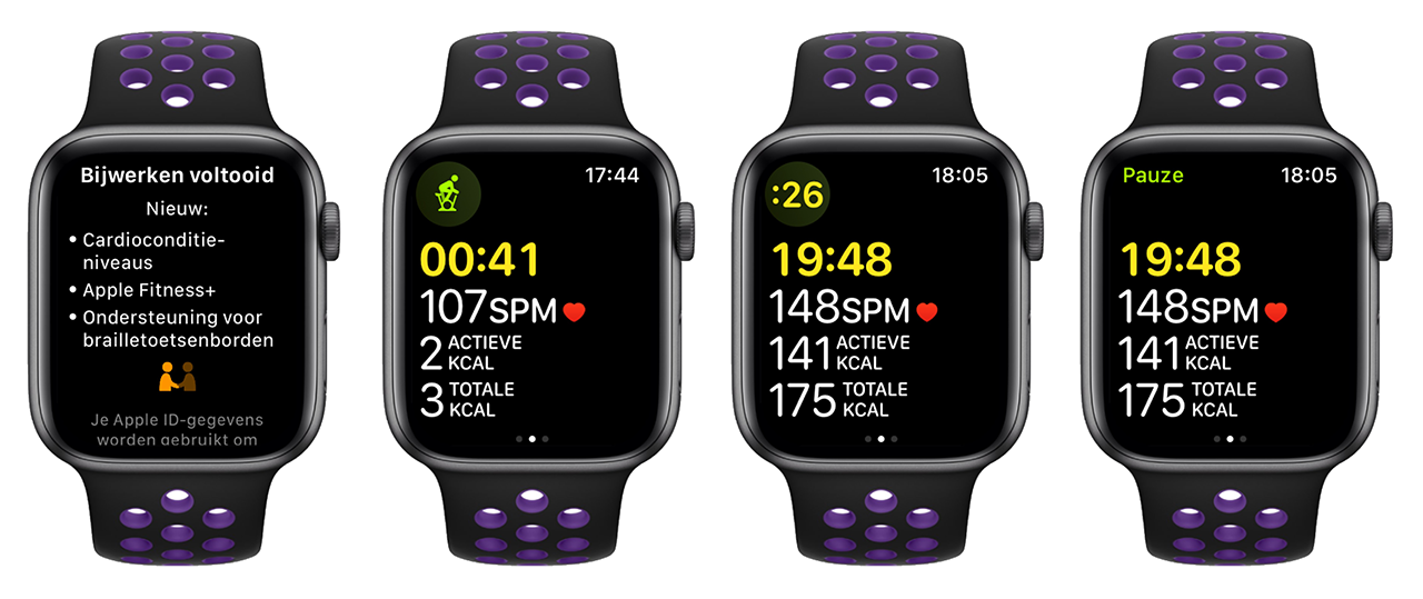 Apple Fitness + Nederland on Apple Watch