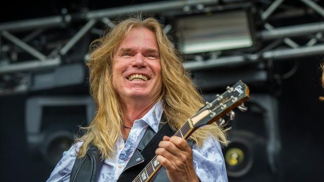 Guitarist Ad Vandenberg will celebrate his 67th birthday on Sunday.