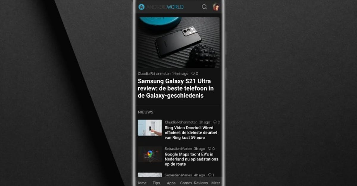 AW Reader gets dark mode and speed improvements