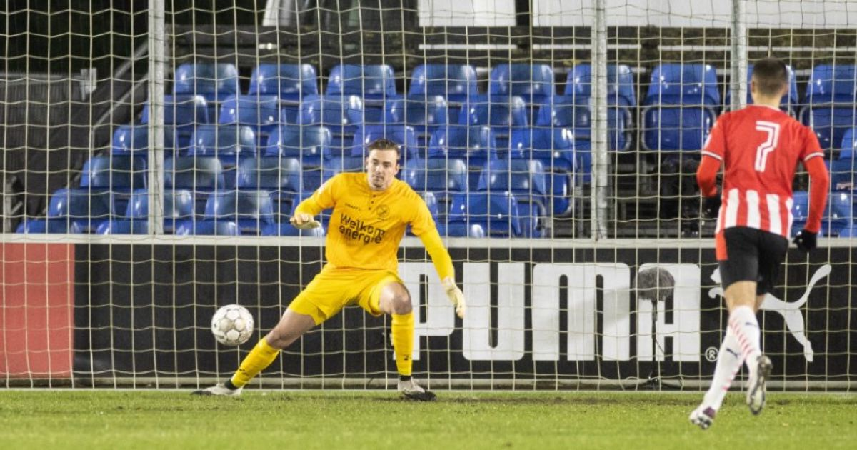 Almer agrees with Willem II's goalkeeper: 'Pleasure in that perspective'