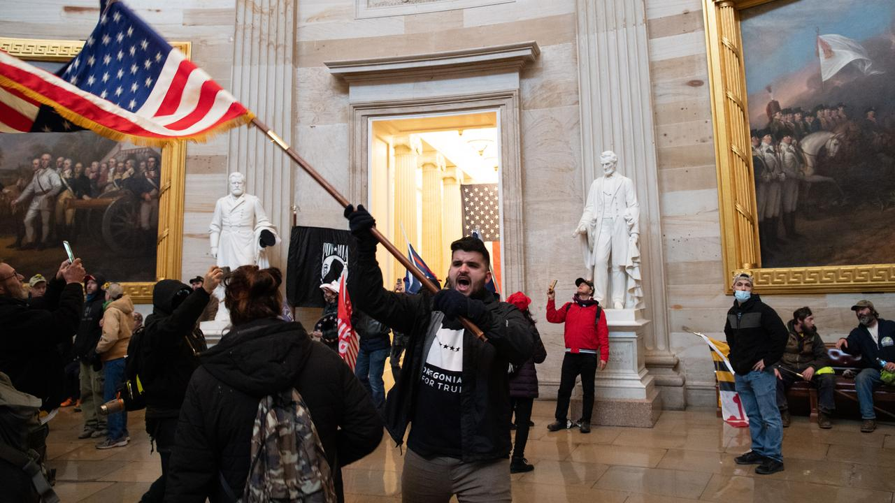 American prosecution: Right-wing militia members stormed the Capitol |  right Now