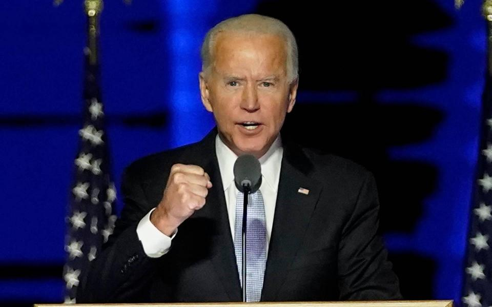 Biden: The Senate hope continues to focus on urgent matters