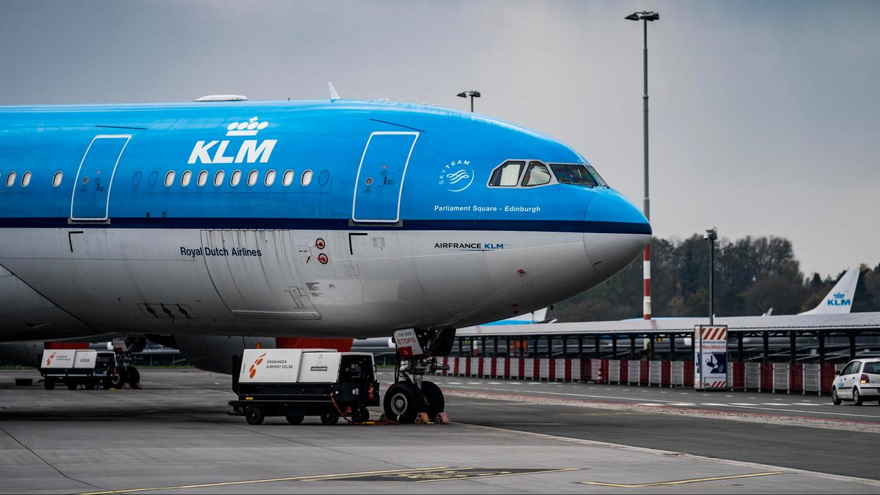 KLM has canceled 200 flights so far due to travel bans to UK and South Africa |  right Now