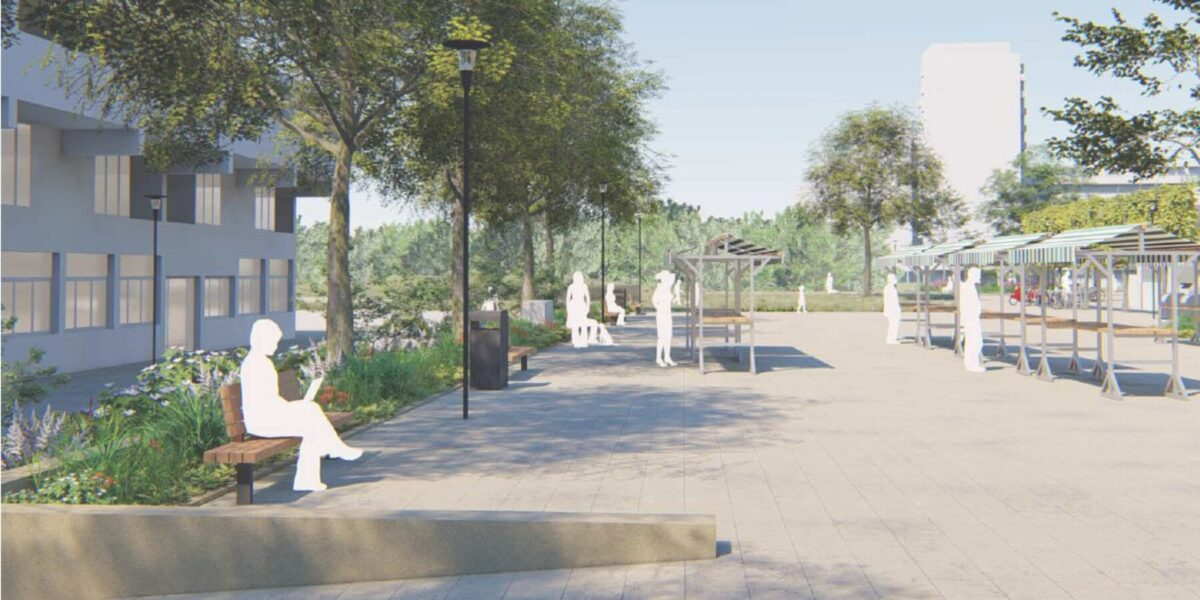 Leiderdorp invests € 175,000 in the renewal of the Statendaalderplein: 'We should not pay for it'