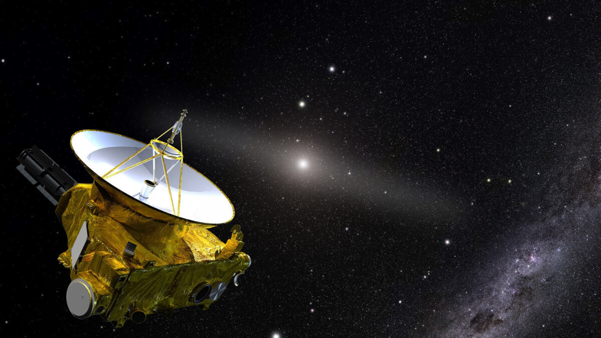 New Horizons reveals just how dark space really is
