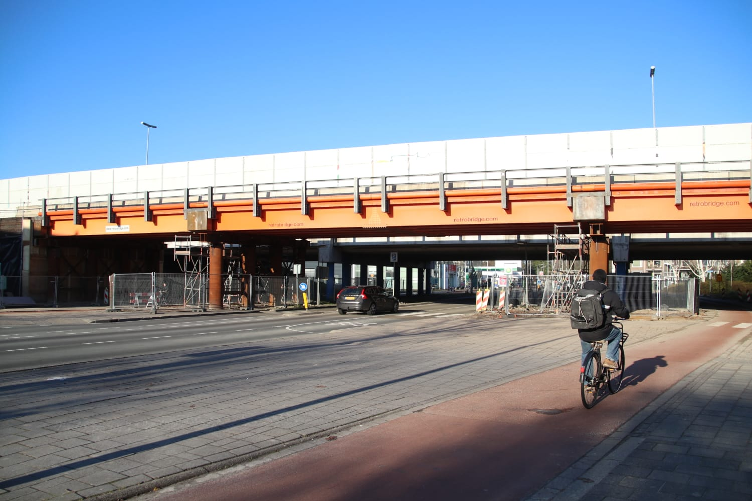 Offer a quick solution to the noise inconvenience of Paterswoldseweg Bridge
