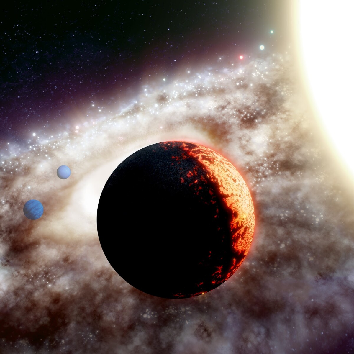 One of the oldest exoplanets ever discovered