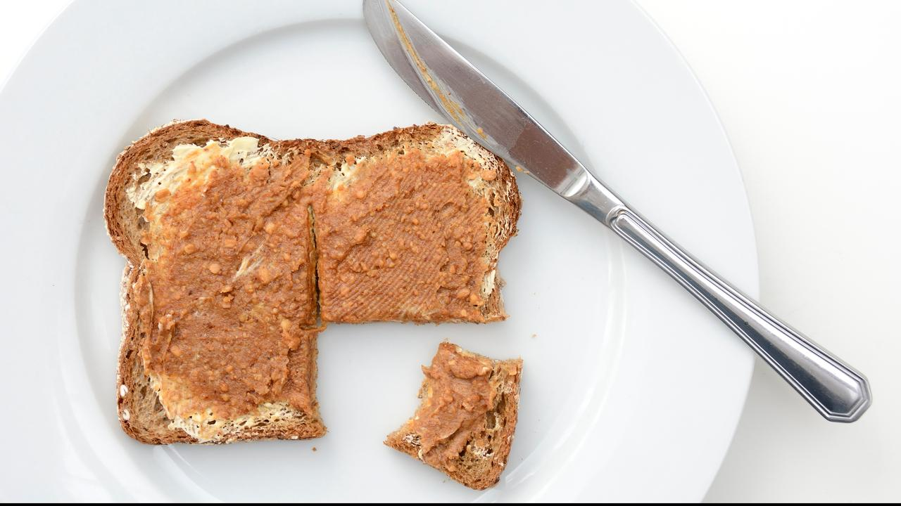 Peanut Butter: This is where the spread comes in, and this is how we prefer to eat it  right Now
