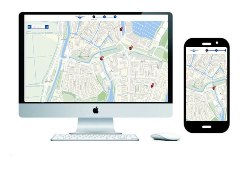 Reporting of public places is easier with the Slim Report Waterland app