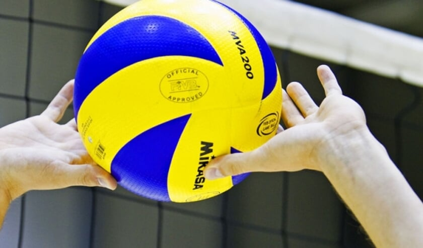 The Zwolle Volleybal area takes a set of Sliedrecht Sport |  Solinaire