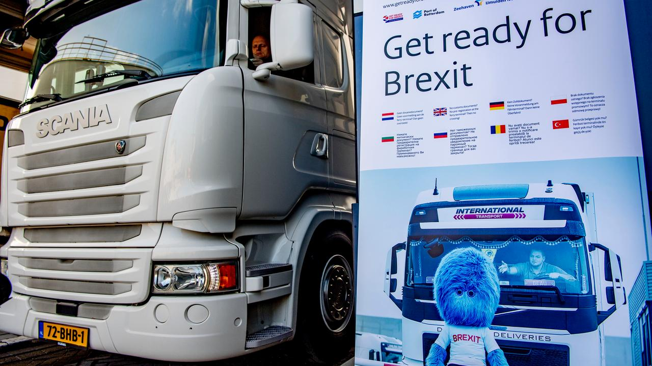 The transport sector wants a quick approach to border measures between the UK and the EU |  right Now