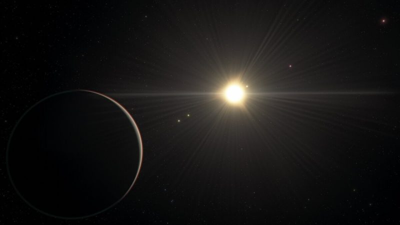 This planetary system contains one of the longest resonant chains researchers have ever seen
