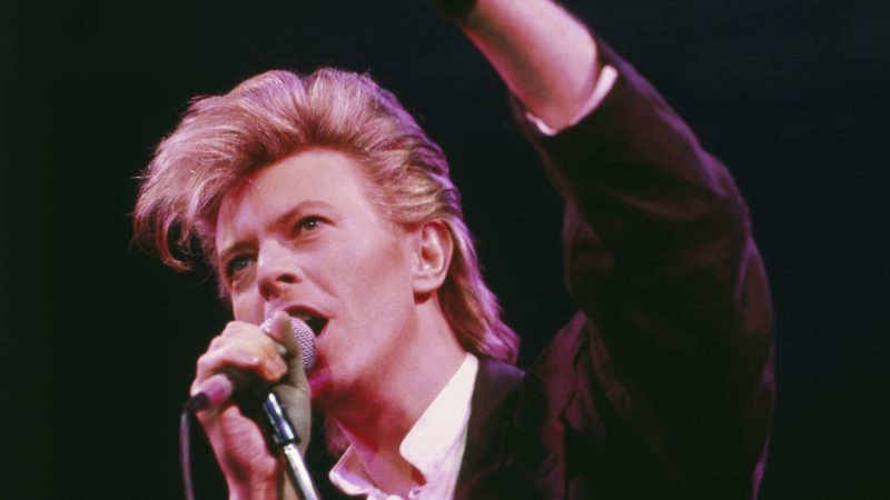 Top five positions in the Top 2000 by David Bowie