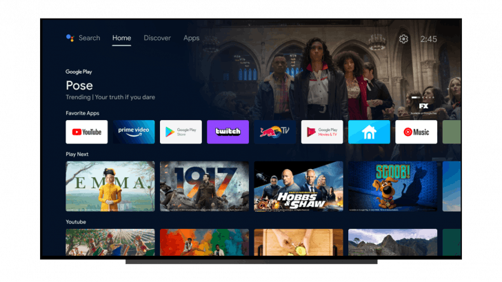 Android TV will look more like Google TV, this is how the new interface looks