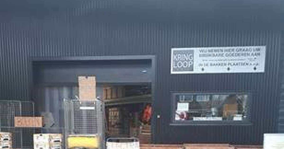 Thrift stores Noggus & Noggus and Stichting Kringloop Zwolle have room for things again |  Weblog Zwolle