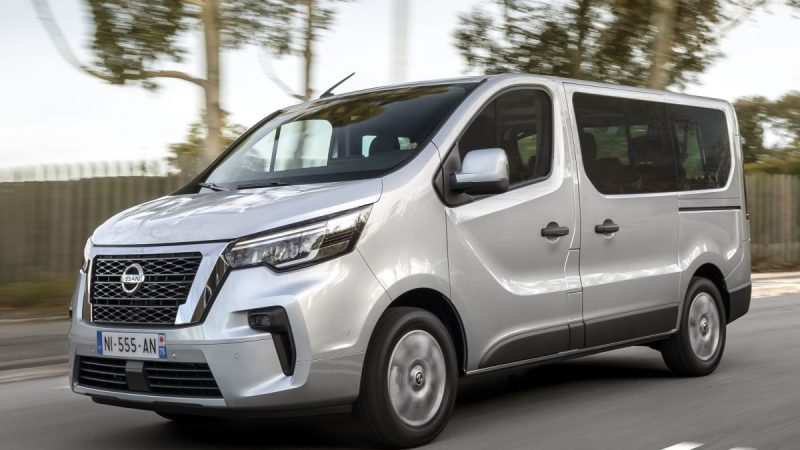 Facelift is available for the Nissan NV300 Combi