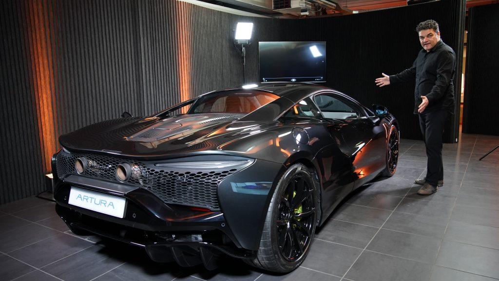 Exclusive video: McLaren Artura in detail