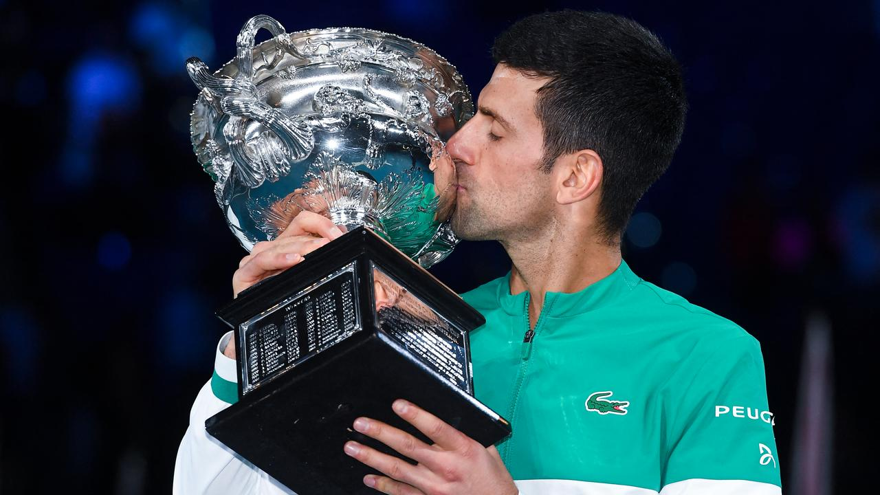 Djokovic beats Medvedev to win ninth Australian Open title |  Currently