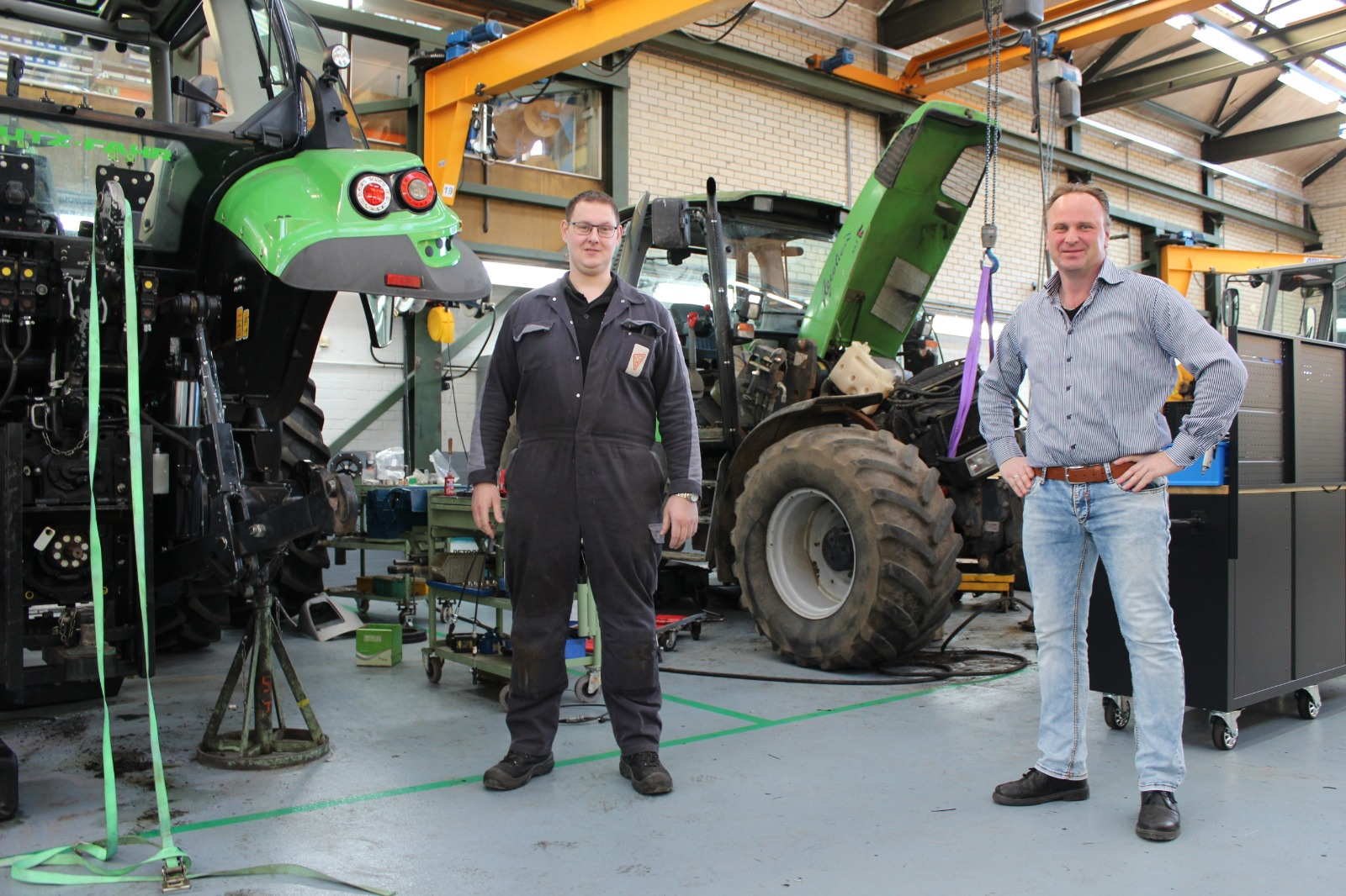 Van der Sluis Agri is happy with a more spacious workspace in Kamperzeedijk – Genemuiden Actueel