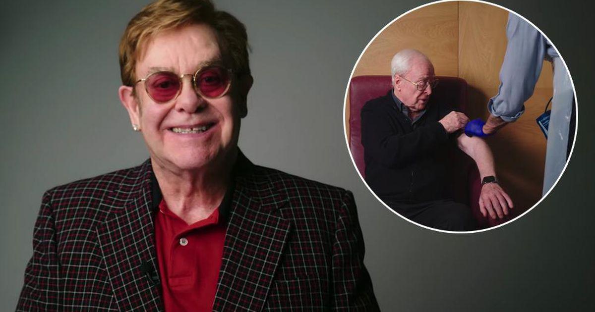 British humor: Elton John and Michael Kane promote vaccination |  entertainment