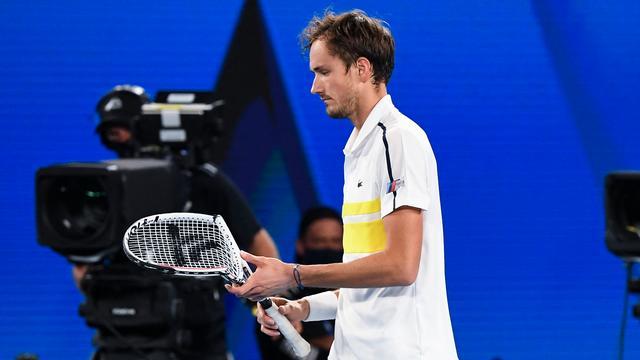 Daniel Medvedev was not a match for Novak Djokovic.