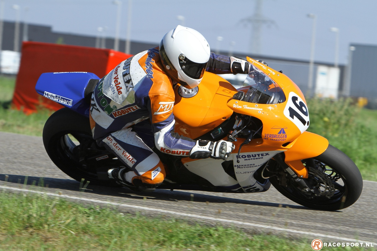 Dutch road racing star at the time: Wim Theunissen