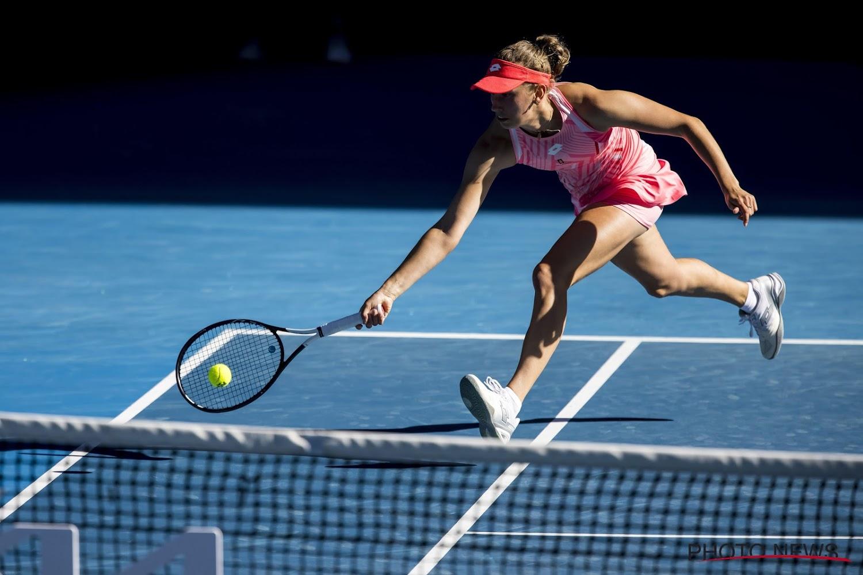 Elise Mertens and Arna Sabalenga doubles quarterfinals at Australian Open