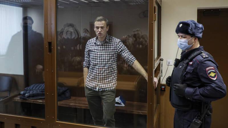 European Union sanctions against four senior Russians for Navalny's detention