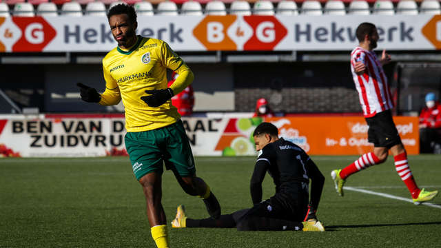 Fortuna Sittard 1-2 win over Sparta in Rotterdam |  1 Limburg