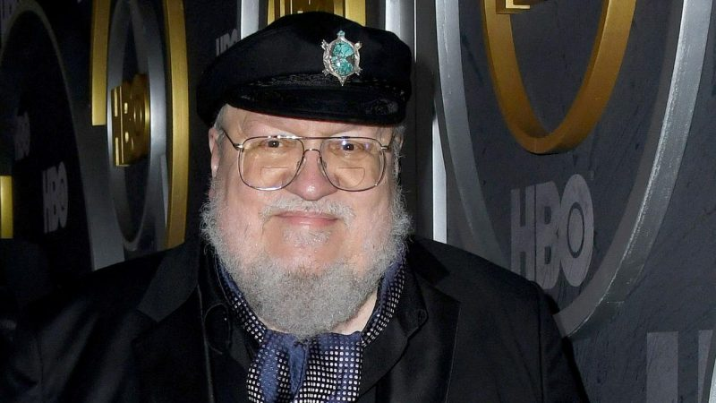 George R.R. Martin made the biggest progress in 2020 with a new book |  right Now