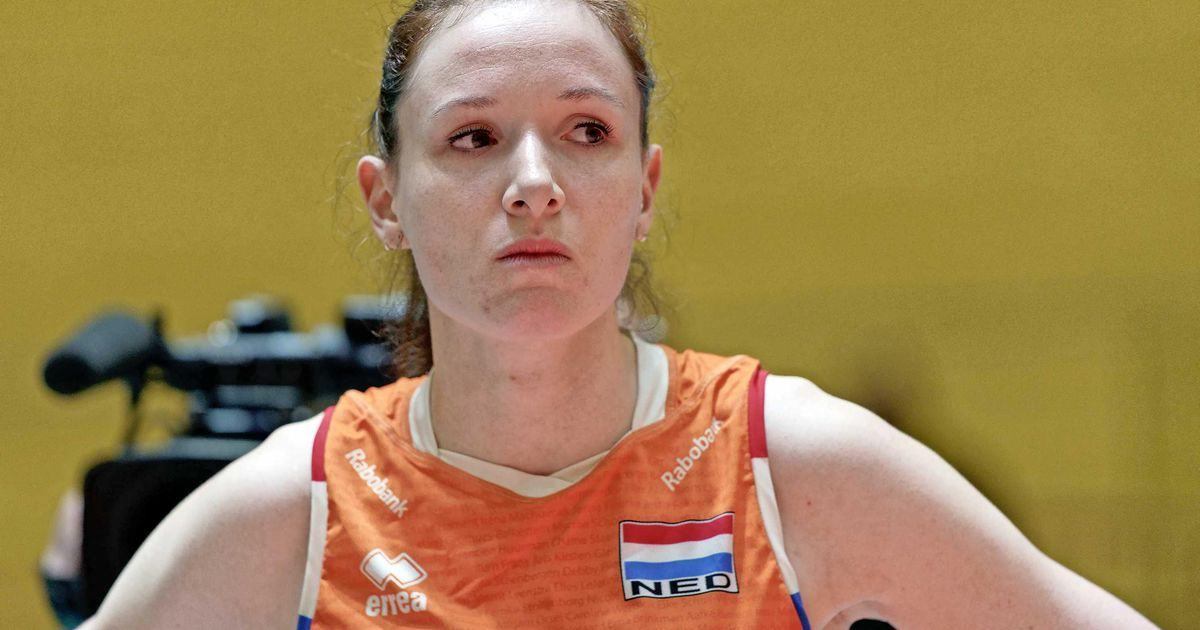 Lonneke Sloetjes definitely stops volleyball |  sport