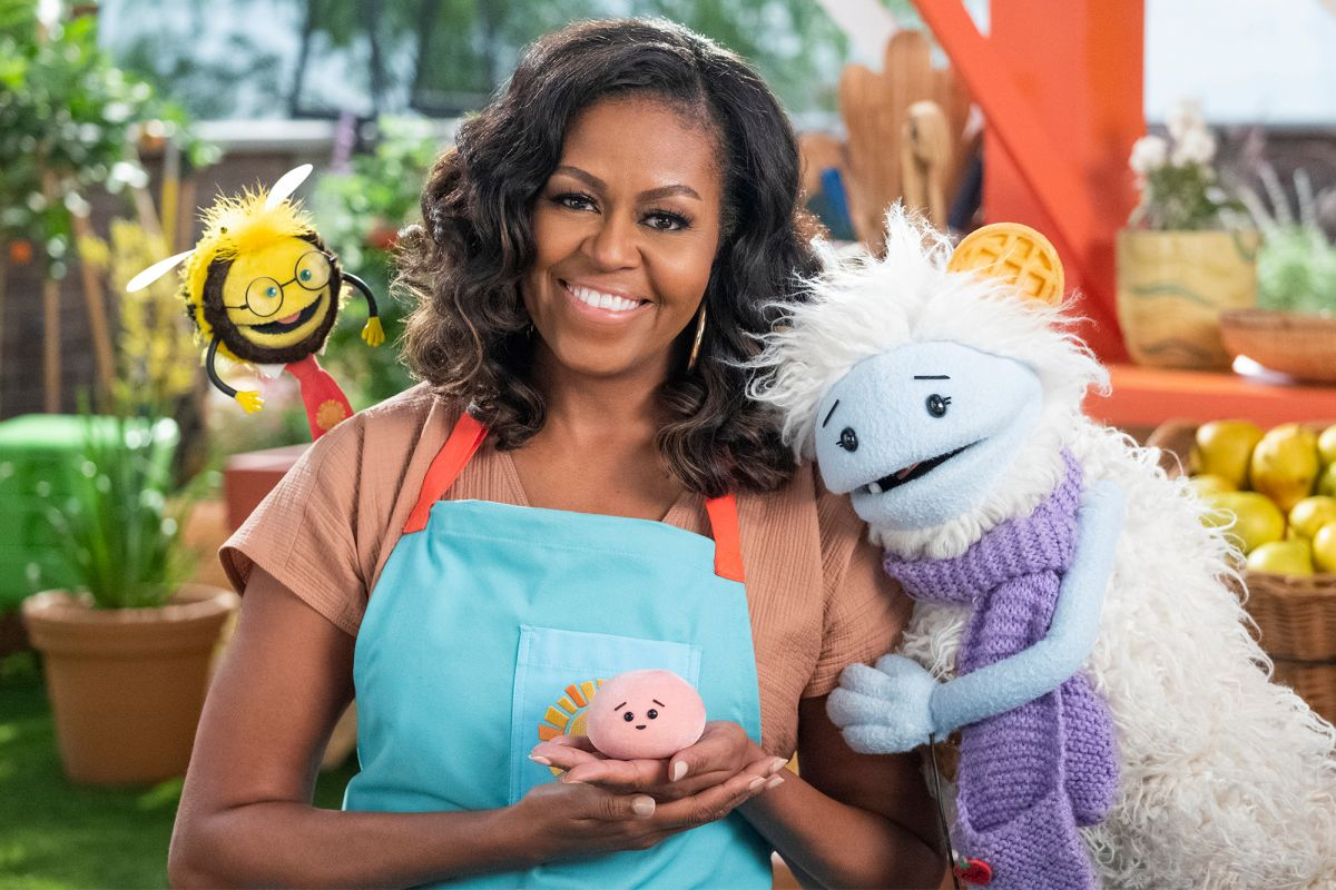 Michelle Obama gets her kids show on Netflix