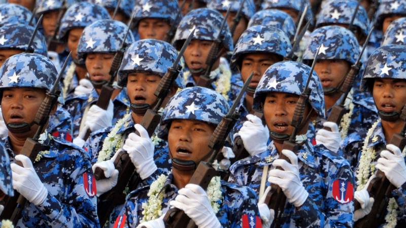 Myanmar activists are calling for a stand against the army's billion-dollar empire