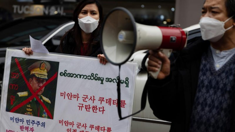 Myanmar military regime is also blocking access to Twitter |  right Now