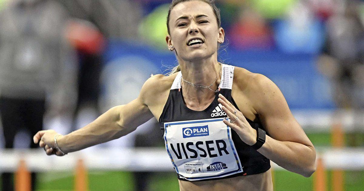 Nadine Visser breaks Dutch record in 60m hurdles in best world time |  sport