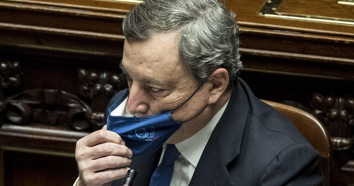 Official: Draghi leads Italy    Abroad