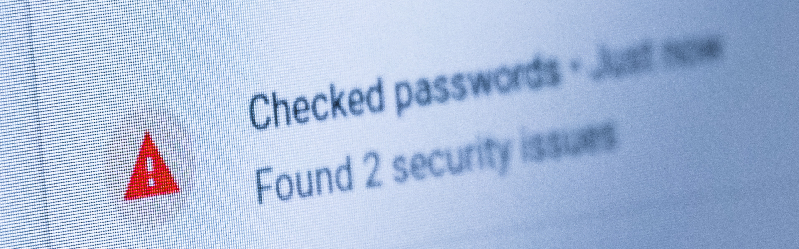 Password managers with warnings – background