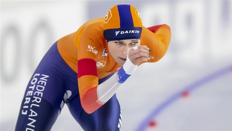 "Schouten's ambition is ready for the World Championship distances: ""I was really thrown into the deep for the first time"""