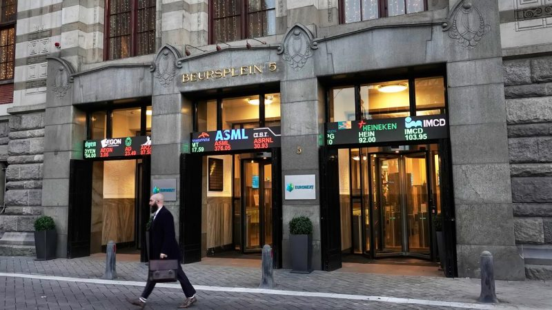 The Amsterdam Stock Exchange is at its highest in twenty years |  Currently
