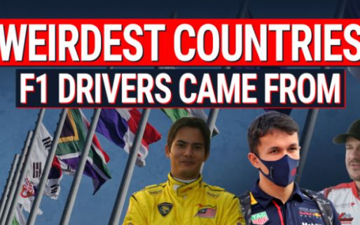 The most unusual countries that produced Formula 1 drivers!