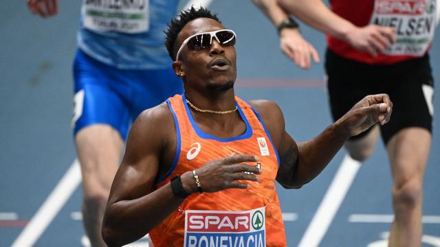Liemarvin Bonevacia started his European Indoor Championships well.