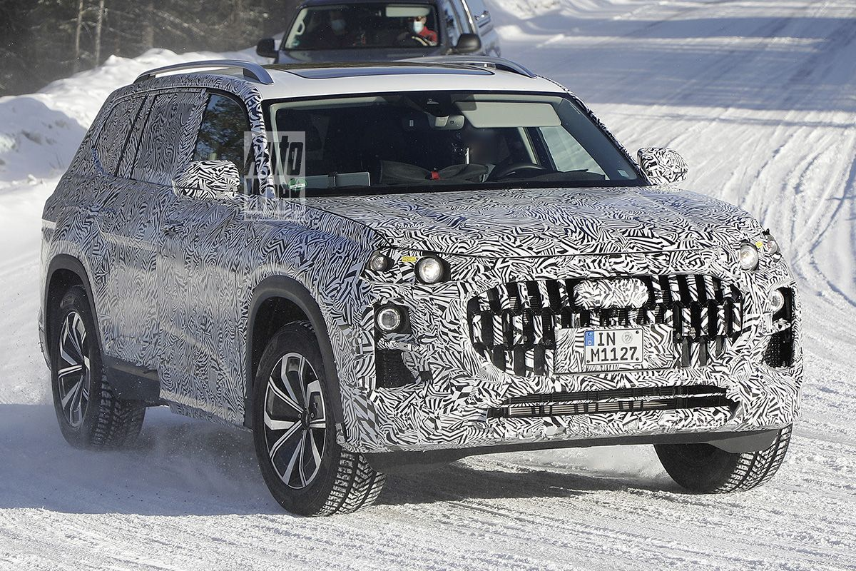 Audi comes with a large SUV over the Q7