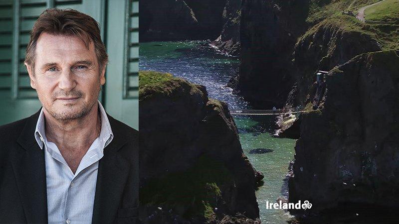 Liam Neeson joins Ireland Tourism to wish the world Happy Saint Patrick's Day