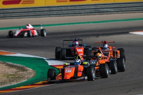 MP in Formula Regional Europe  Colopindo and Goethe team players on motorsport