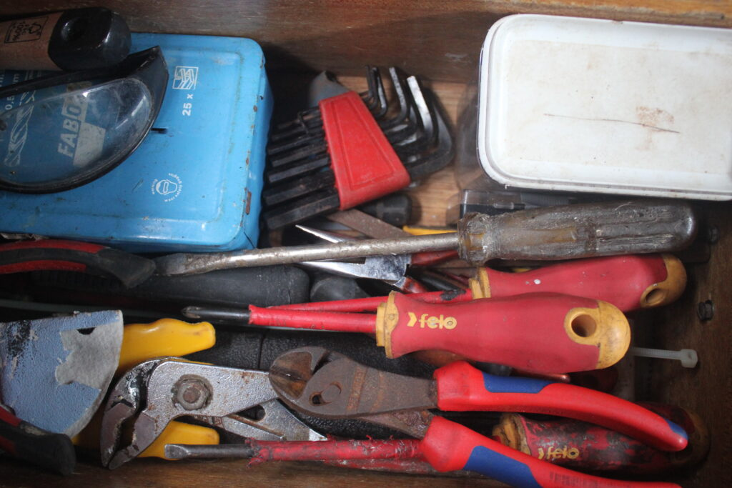 Leave the file: What tools do you carry with you?