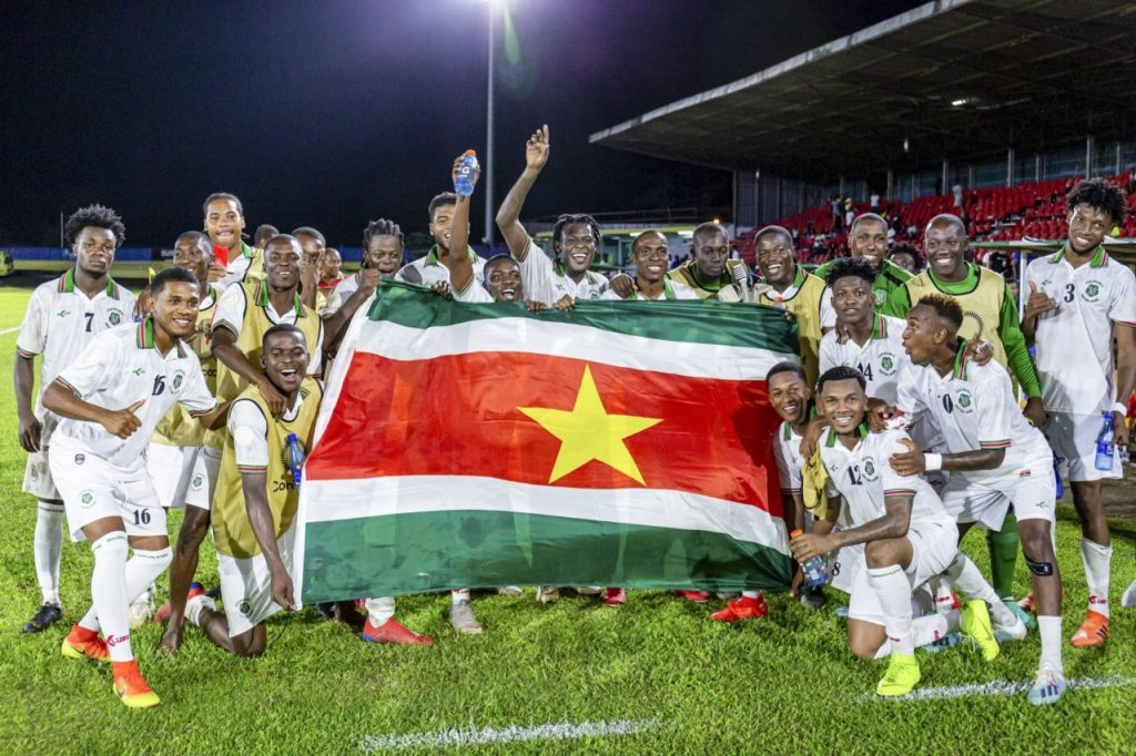 The Dutch national team has played against Suriname only once