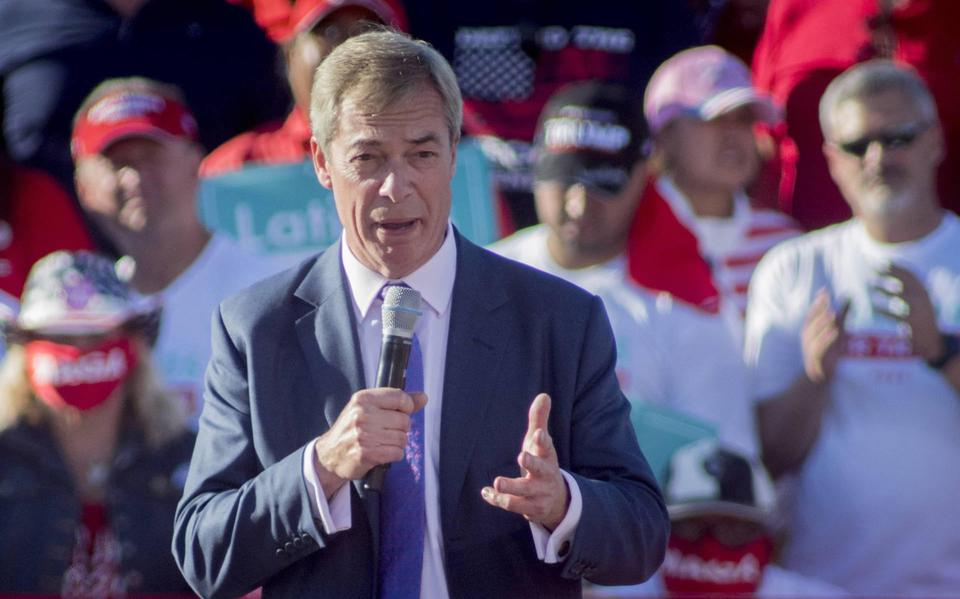 """Nigel Farage is a consultant for the Dutch DGB """"sustainable investor"""""""